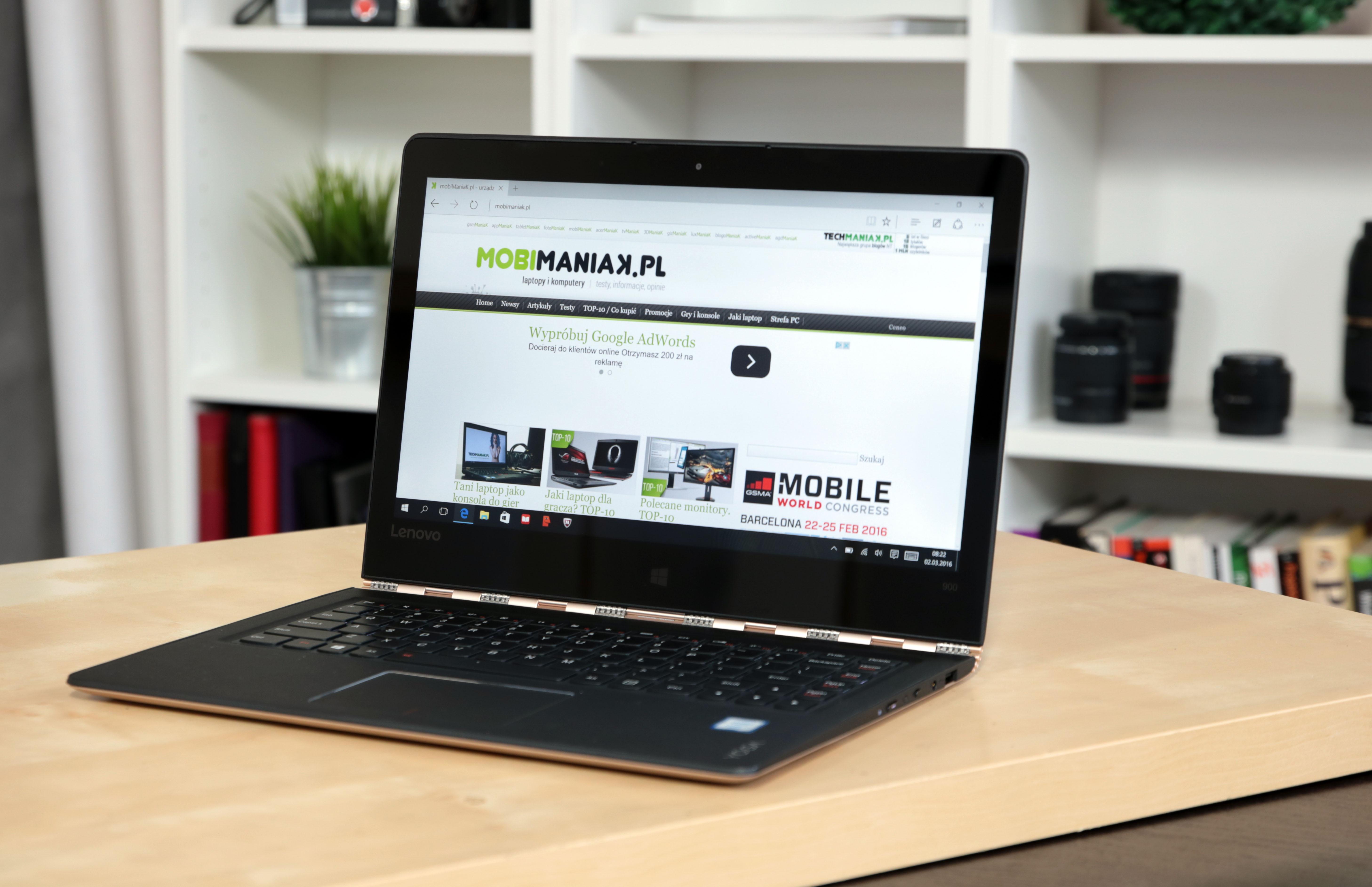 Lenovo YOGA 900 -- test hybrydy, która może zastąpić MacBooka