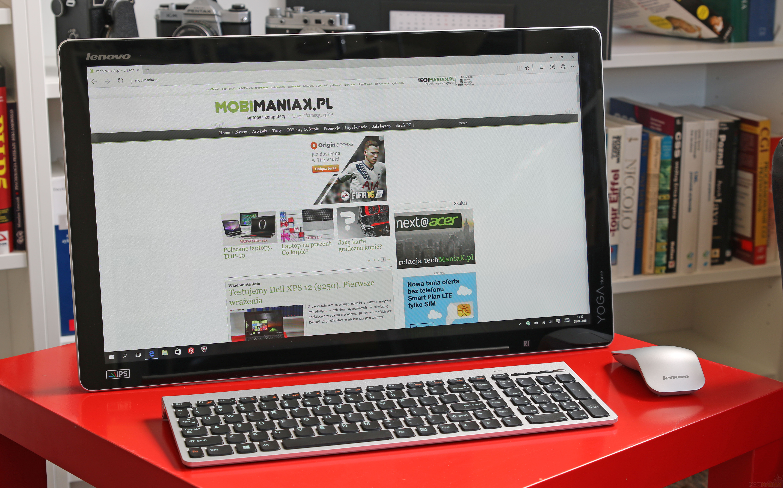 Lenovo YOGA HOME 500 - test tabletu i komputera AIO w jednym