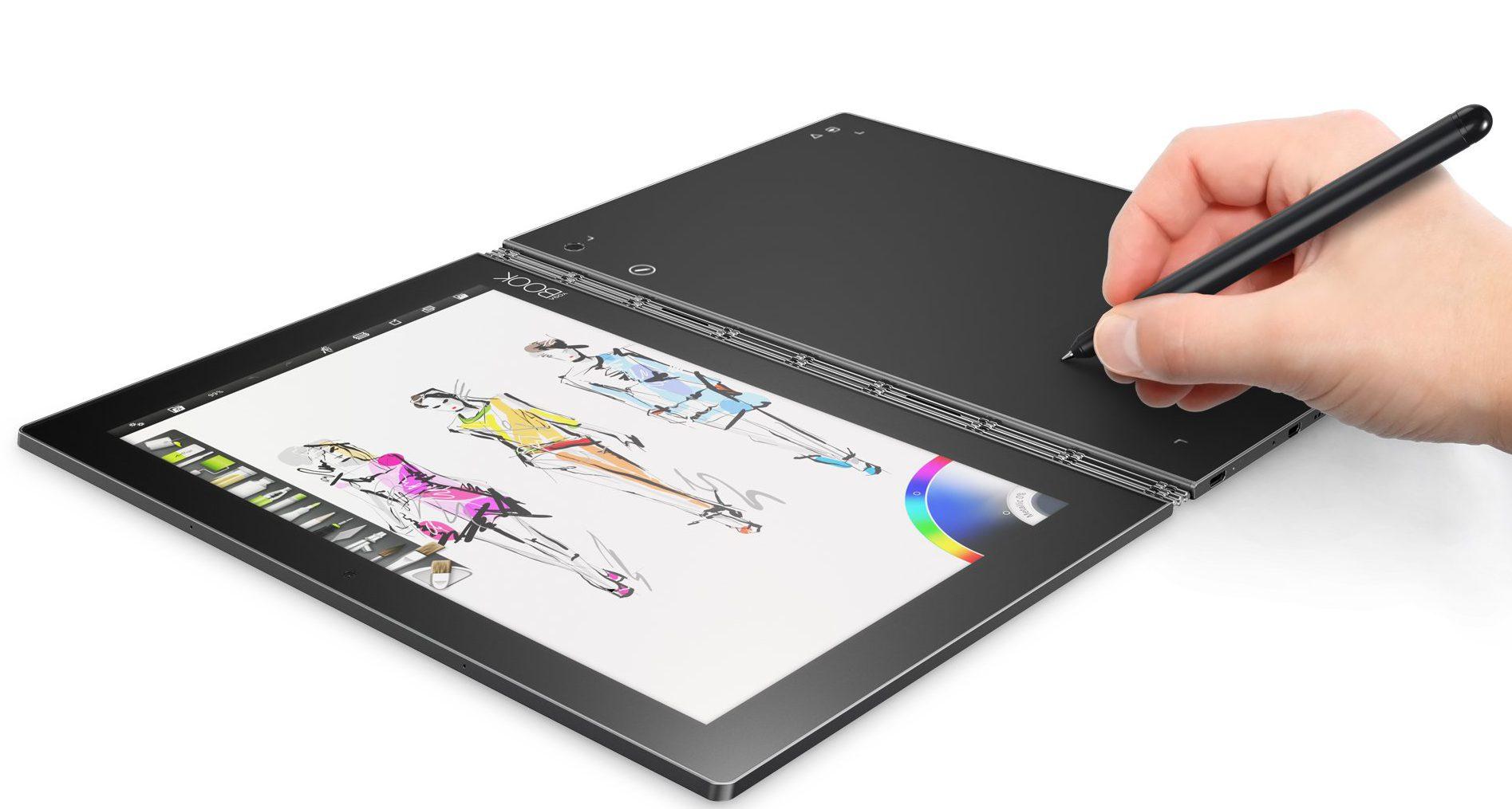 Lenovo YOGA Book (z rewolucyjną klawiaturą) do kupienia w Polsce