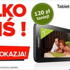 Promocja | Lenovo A7-30 z 3G za 379 złotych. Tylko dzisiaj!