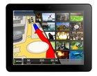 9.7-calowy wyświetlacz Android 4.0 Ice Cream Sandwich Bluetooth GPS tablet z DVB-T