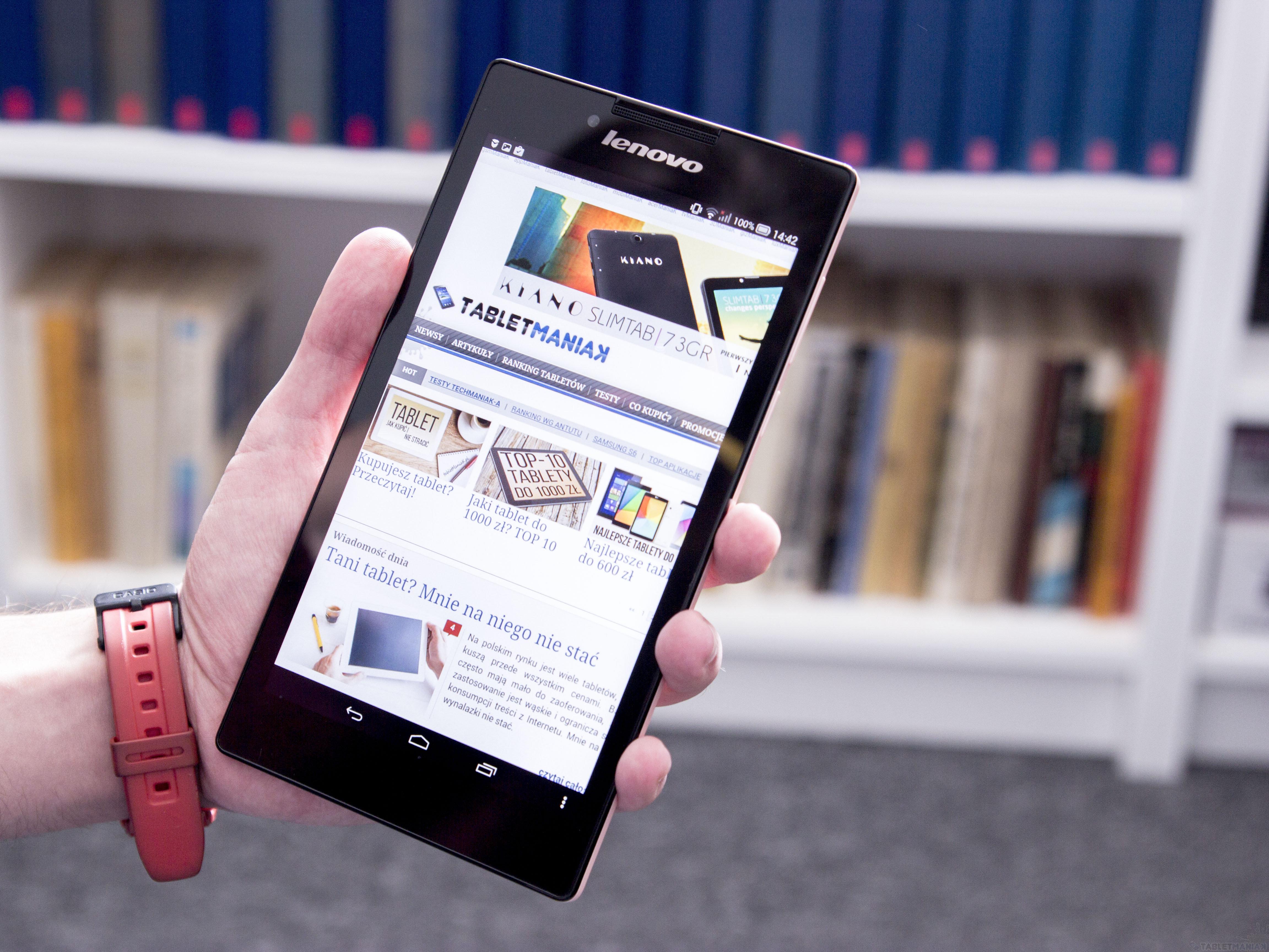 Test | Lenovo TAB2 A7-30H. Poręczny tablet z głośnikami stereo