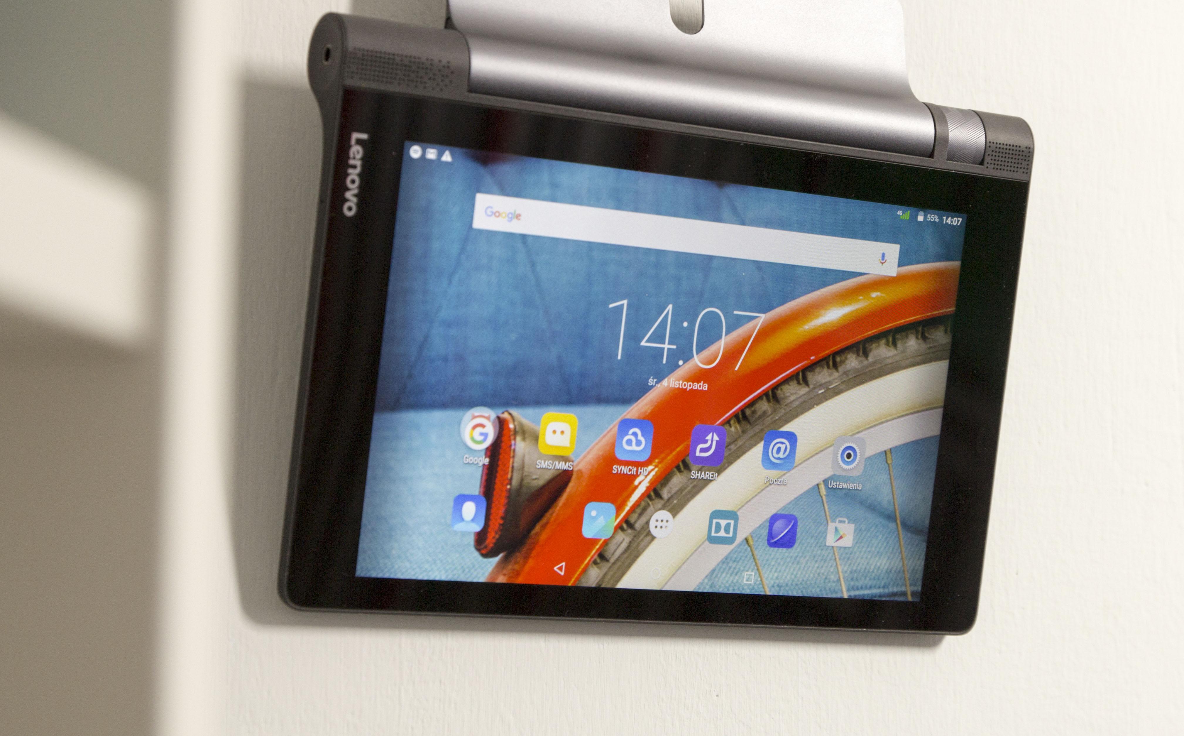 Lenovo Yoga Tab 3 8.0 - test niedużego tabletu z potężną baterią