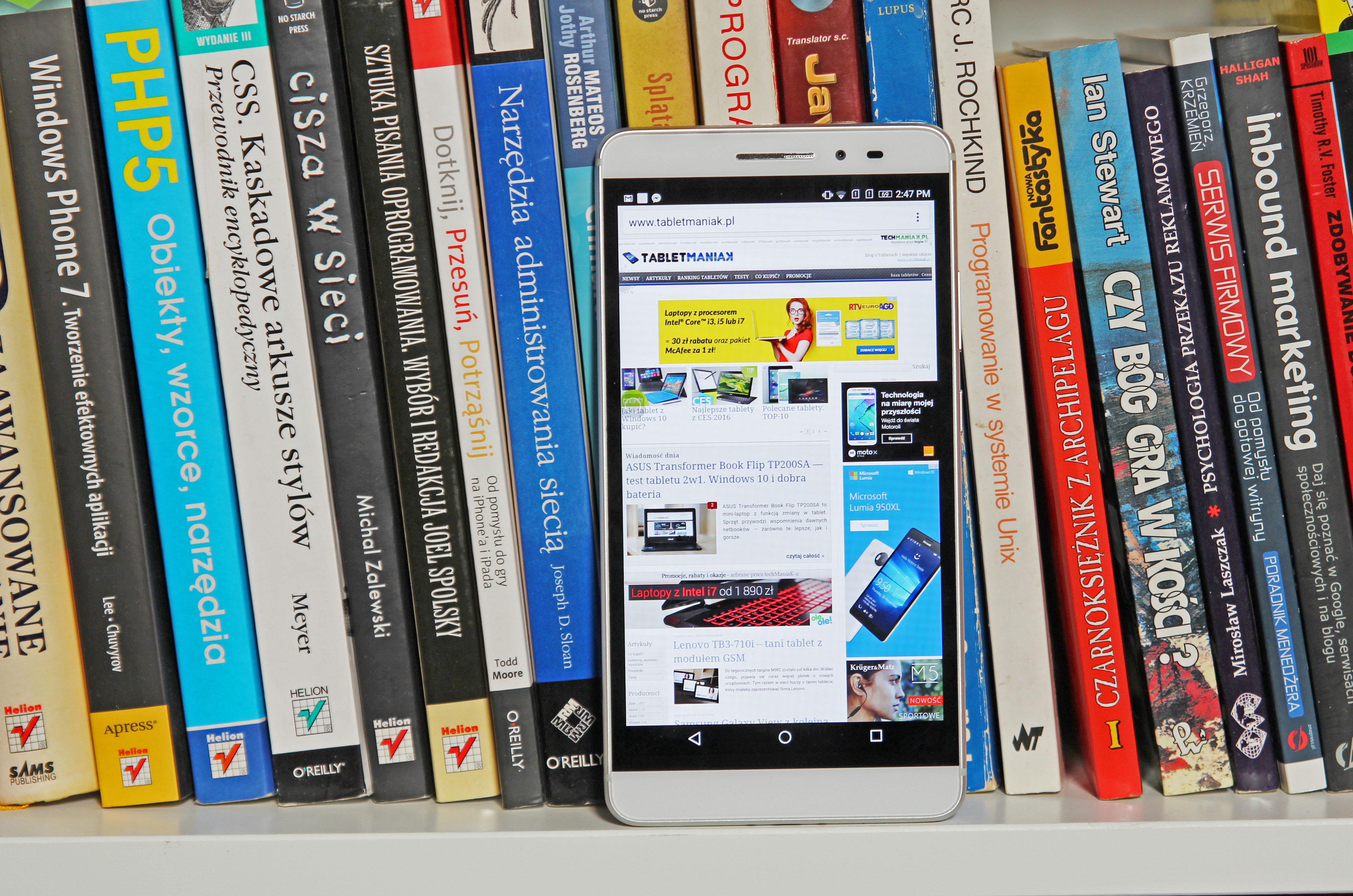 Lenovo Phab Plus — test tabletu i smartfonu w jednym