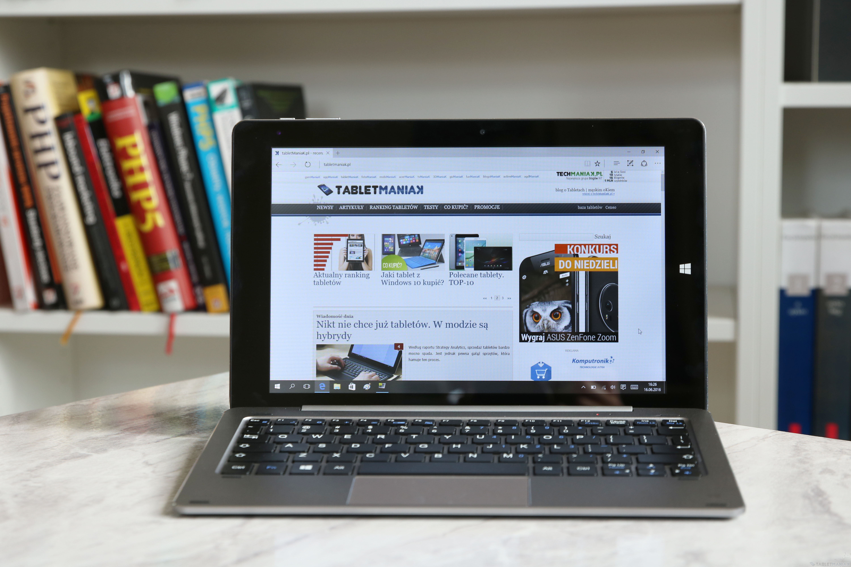 Kiano Intelect X2 HD - test tabletu z Windowsem 10, stacją dokującą i 4 GB RAM