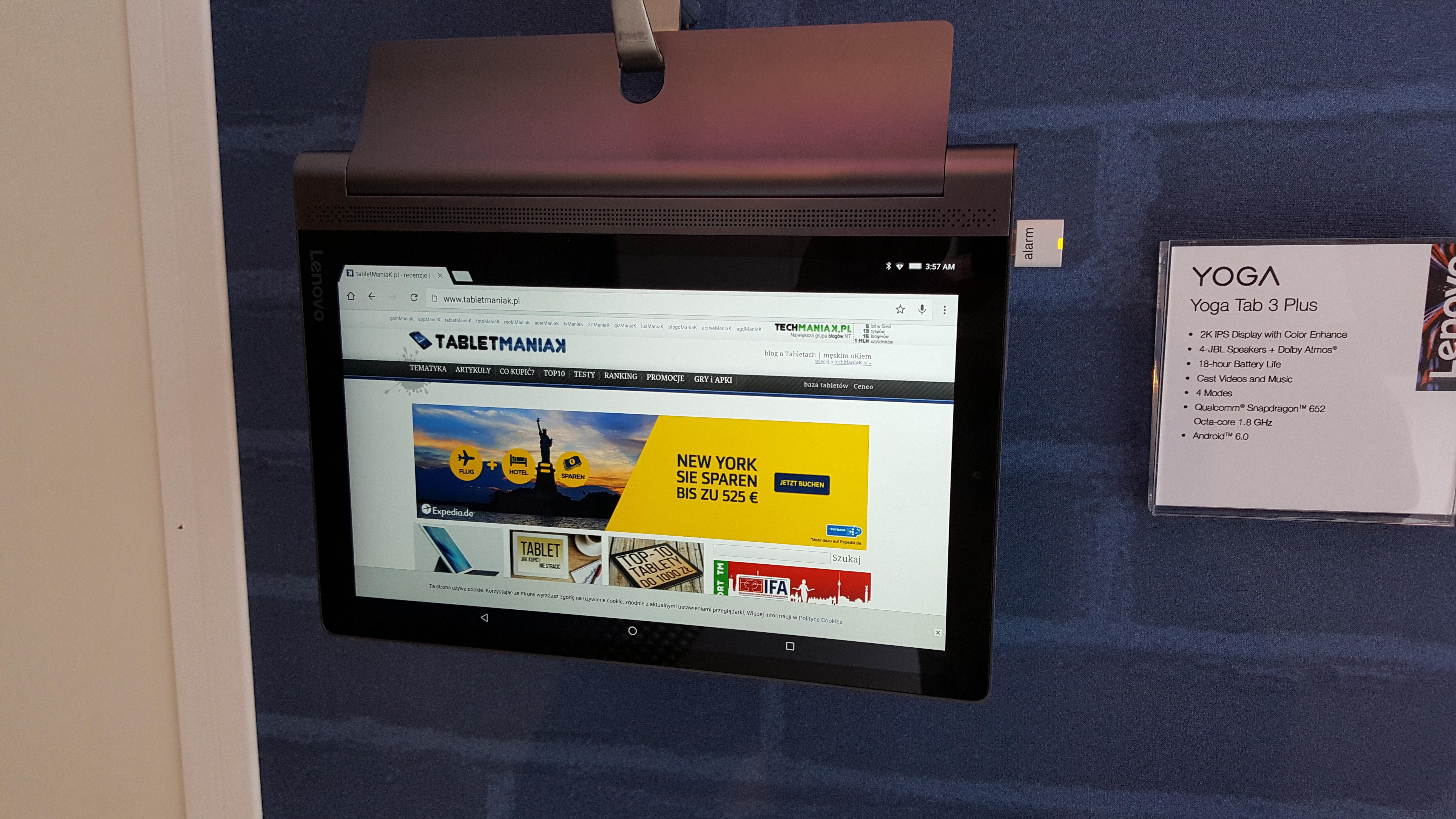 Lenovo YOGA Tab 3 Plus w Polsce. Znamy ceny
