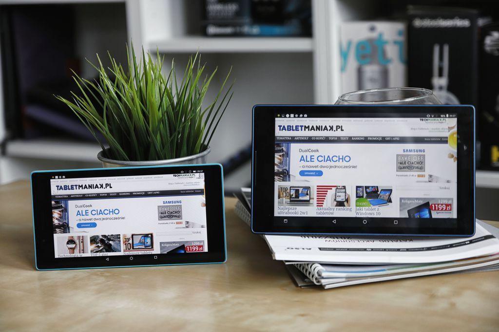 Test tanich tabletów Lenovo TAB3 A7-730X i A8-850M
